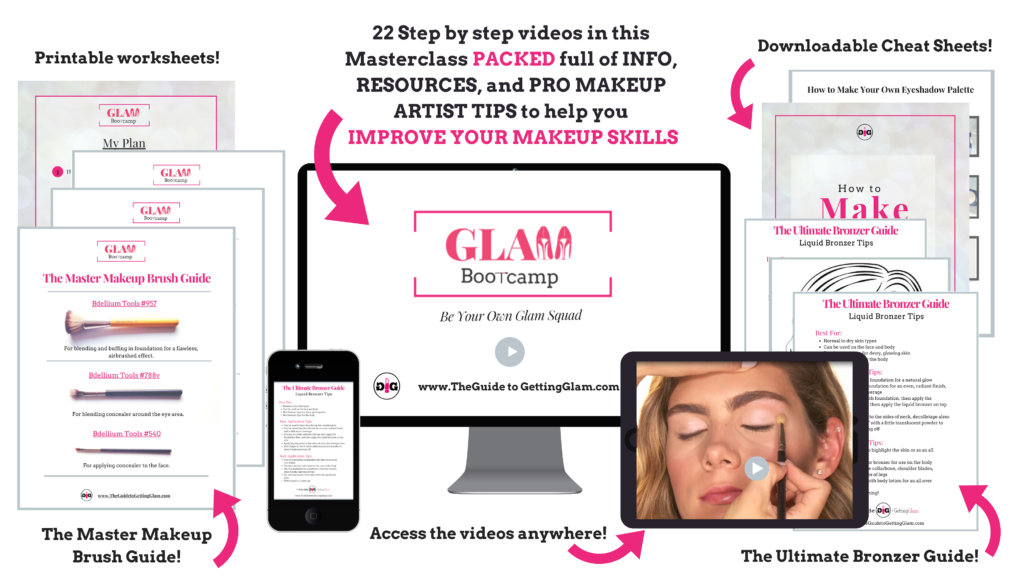Glam Bootcamp Online Makeup Course