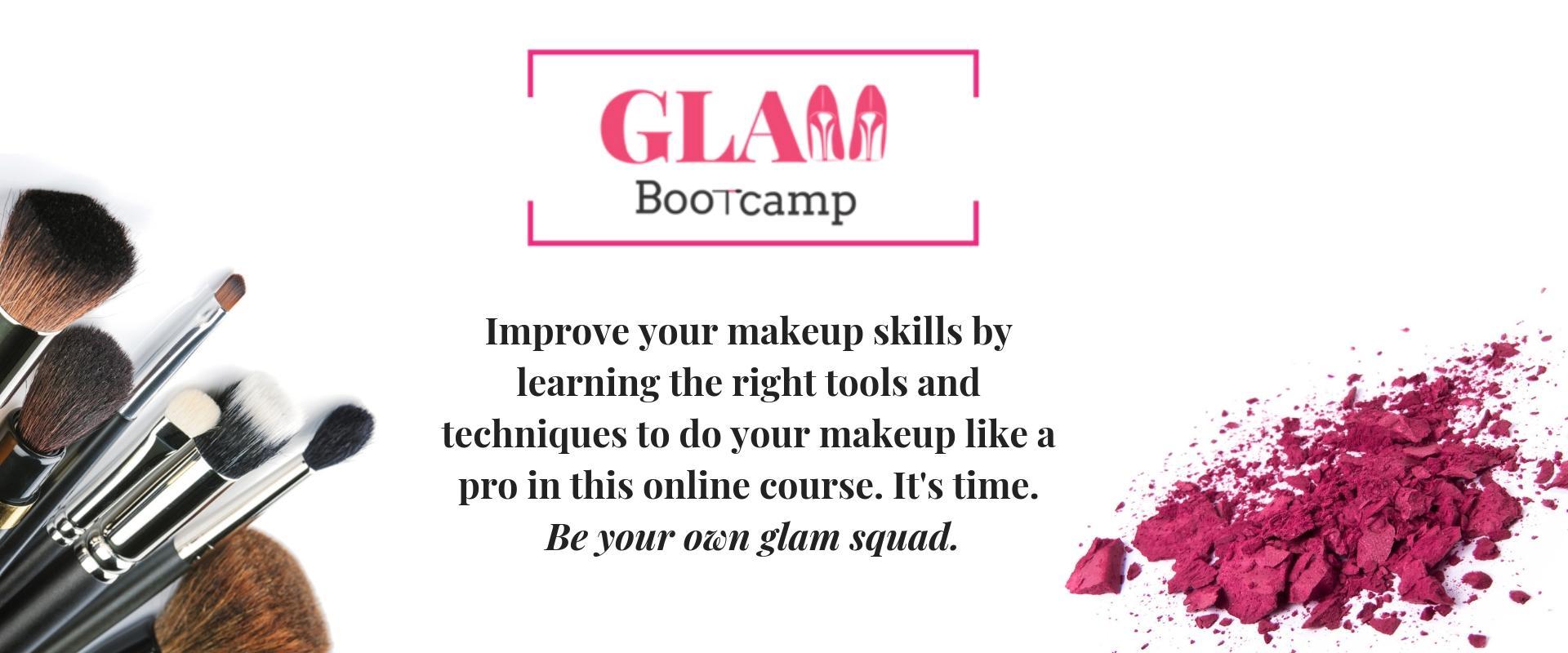Online Makeup Class Glam Bootcamp